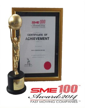 SME 100 | Awards 2014 - Fast Moving Companies